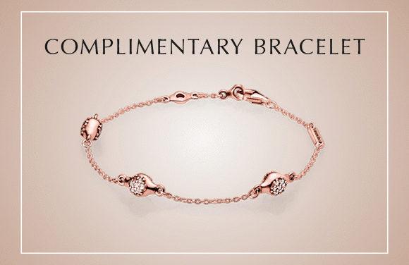 [Limited Qty] Redeem Your PANDORA Rose Modern LovePods Bracelet!