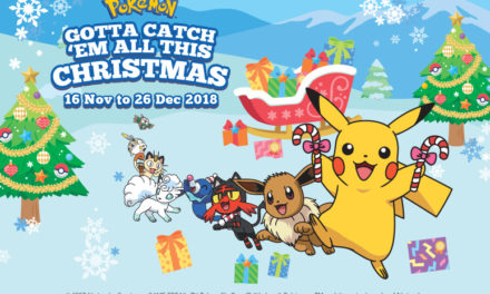 Gotta Catch 'Em All this Christmas at M Malls!